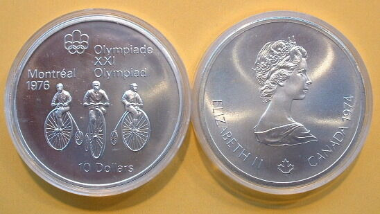 Canada 1976 Olympic 10 Silver Coin No 11 Ebay