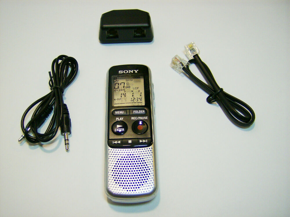 Digital Phone Recorder System Vor Voice Activated 4gb