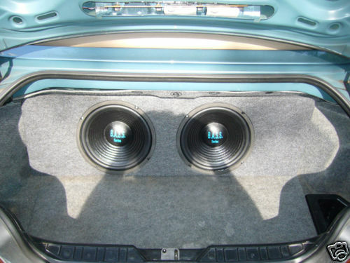 Custom Dual Subwoofer Enclosure Trunk Box For Bmw Z3 Ebay