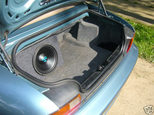 Custom Subwoofer Enclosure Trunk Box For Bmw Z3 10 Quot Sub Ebay
