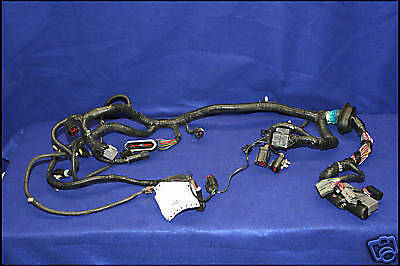 2003 03 ford mustang 4 6 ecu engine wiring harness 5 speed ebay. Black Bedroom Furniture Sets. Home Design Ideas