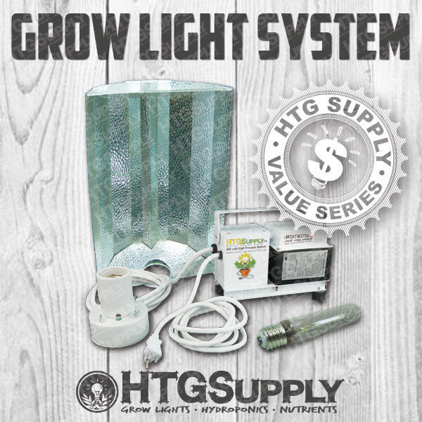400 watt hps grow light 400w system hydroponic sun lamp ebay. Black Bedroom Furniture Sets. Home Design Ideas