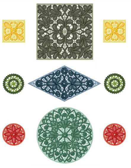 Stand Alone Lace Designs : Abc designs celtic imprints standalone embroidery