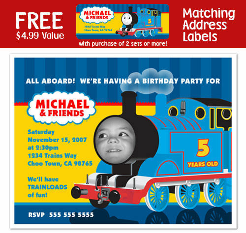 Thomas The Train Invitations Personalized is nice invitations ideas