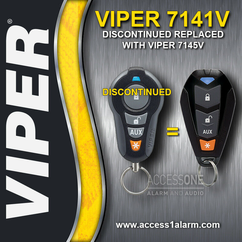 Bmwfort Access Key Replacement: Viper 7141V 1-Way Replacement Remote Control Transmitter