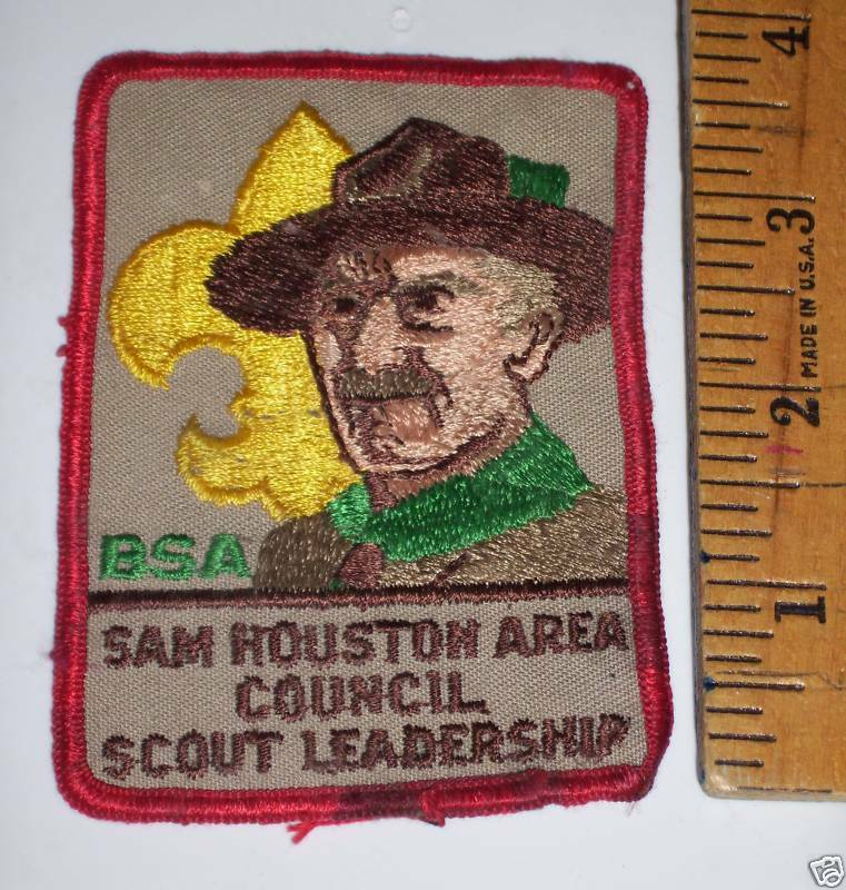 All boy scout leadership patches