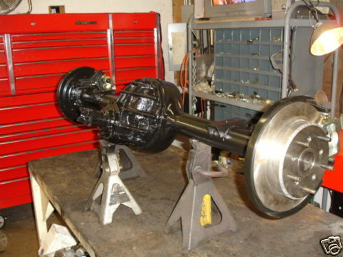 Ford Rear Axle Assembly : Ford quot rear axle assembly detroit locker disc brakes ebay