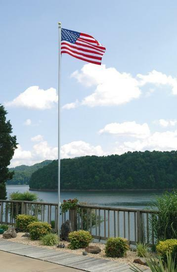 Aluminum Flag Pole 30 Ft X 5 Quot In Butt X 156 Quot Wall Icc