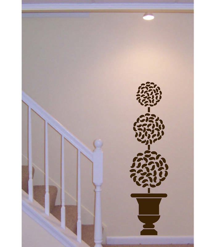 Wall Decal BIG TOPIARY TREE Deco Art Sticker Mural