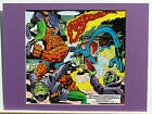 FANTASTIC FOUR vs SKRULLS Pin up Marvel Frame Ready
