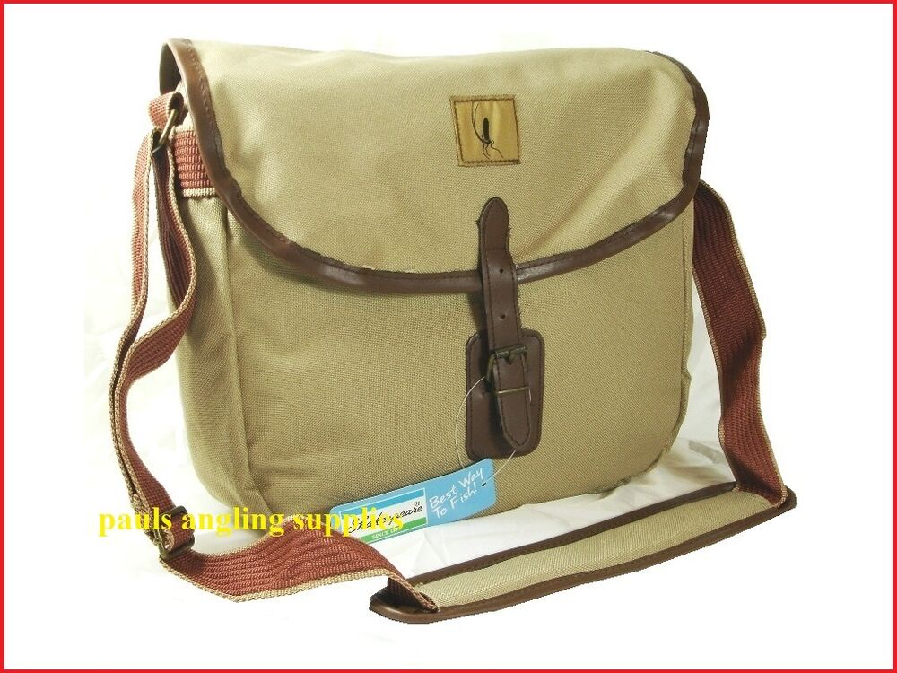New shakespeare agility rise trout game fly fishing bag for Fly fishing bag