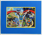 MIGHTY THOR in ASGARD Pin up Poster 1978 Marvel MATTED
