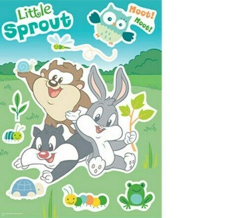 baby looney tunes wall sticker 12x16 inches new decal ebay online buy wholesale looney tunes wall from china looney