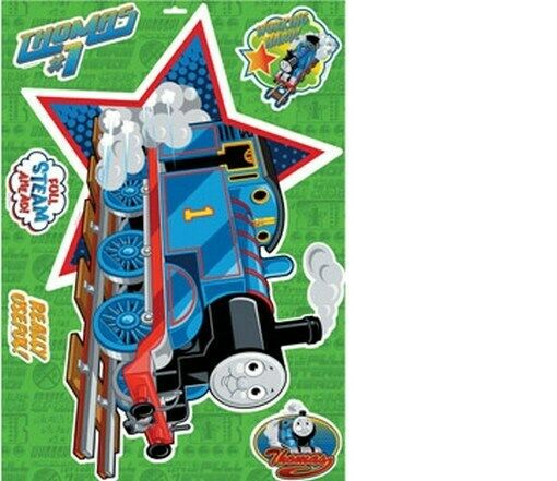 THOMAS AND FRIENDS WALL STICKER 20x28 inches NEW DECAL