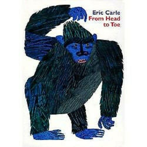 eric carle from head to toe book new ebay. Black Bedroom Furniture Sets. Home Design Ideas