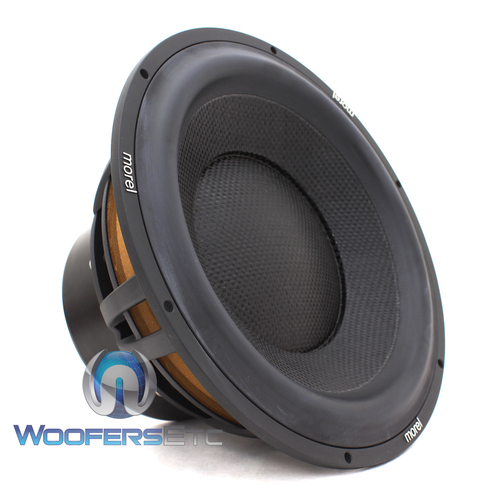 morel ultimo 10 woofer 10 sub 4 ohm car audio 1000 watt. Black Bedroom Furniture Sets. Home Design Ideas