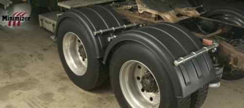 Poly Fenders Dually Trucks : Minimizer single axle truck poly fender pair ebay