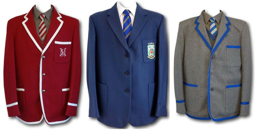 For school uniforms, Blazer Depot carries an extensive line of boy's and girl's school uniform blazers upon which we can (if you like) add your school's logo.