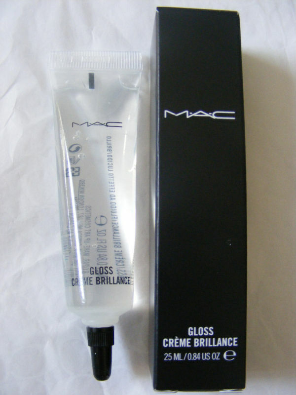 mac clear gloss clear lipgloss 100 authentic ebay