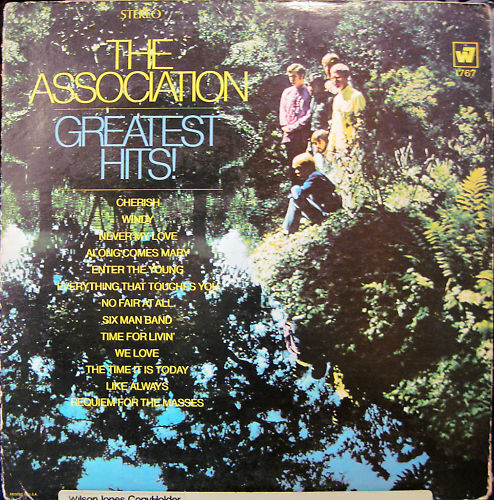 The Association Quot Greatest Hits Quot Lp Stereo 1968 Ebay