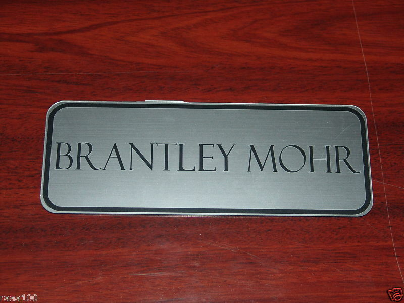 Custom Engraved Horse Stall Name Plate 3 x 8 eBay