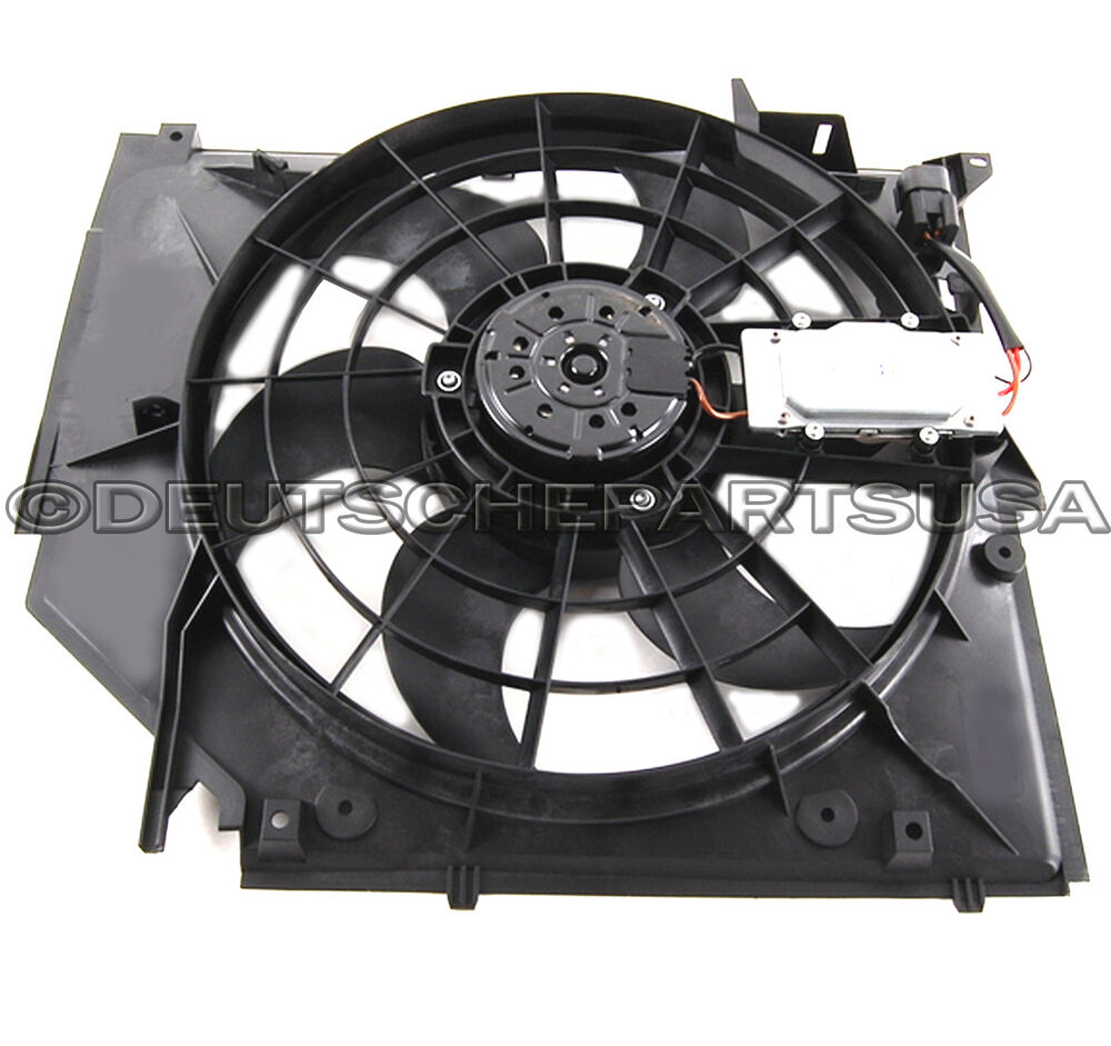 A c condenser fan motor 17117510617 17117561757 for bmw for Ac condenser fan motor replacement