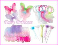 4pc FAIRY BUTTERFLY Wings Wand Halo Tutu Favors 3T-5