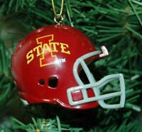 Iowa State Cyclones Football Helmet Christmas Ornament