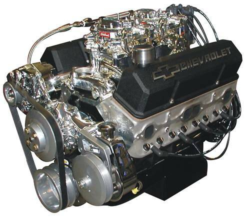 Chevrolet 350 Show  Cruise Dual Carb Crate Engine 400hp