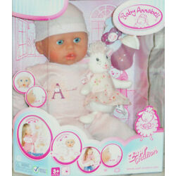 Baby Annabell 18in. Girl Doll Interactive Lamb Cries Real Tears Zapf Version 5