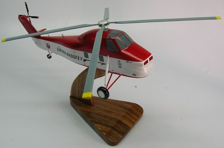 Elicottero S 58 : Sikorsky s choctaw helicopter desktop wood model large