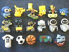 New Pokemon Wall-E Eve Sonic Sports Boys' Shoe Charms
