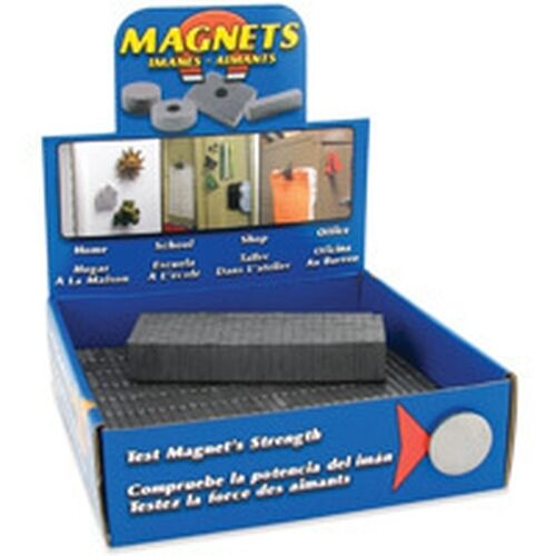New Bulk Display Of 500 Strong Cermaic Block Magnets Ebay