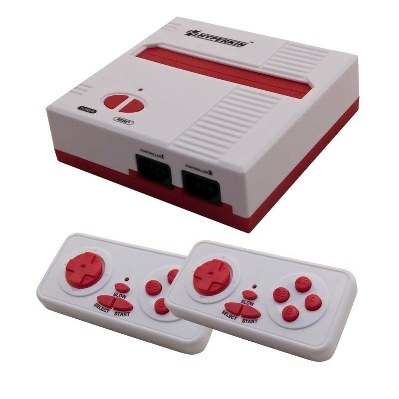 Retron 1 nes system nintendo fc game console 8 bit top loader red