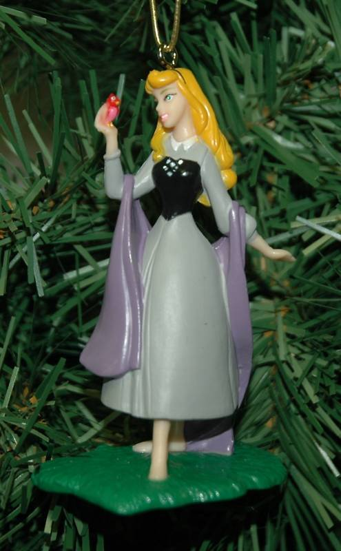 sleeping beauty  aurora christmas ornament