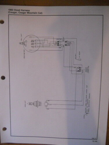 Artic Cat 1993 Wiring Diagram Lynx Jag Panther Cheetah