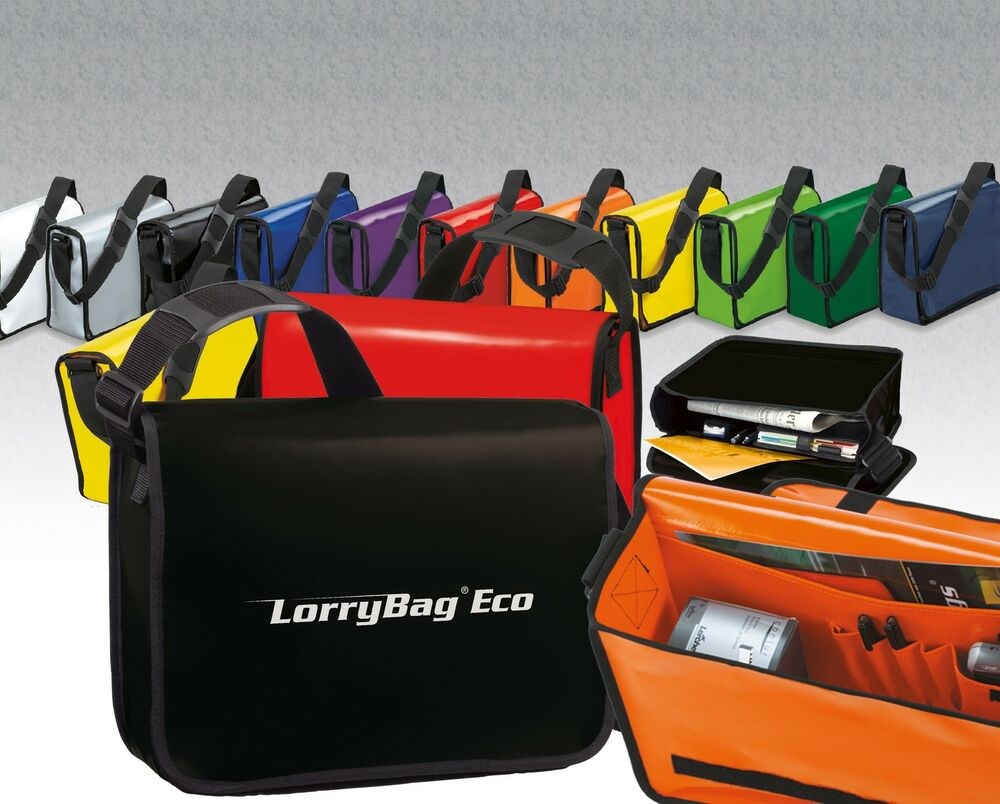 lorry bag eco lkw plane tasche umh ngetasche messenger ebay. Black Bedroom Furniture Sets. Home Design Ideas