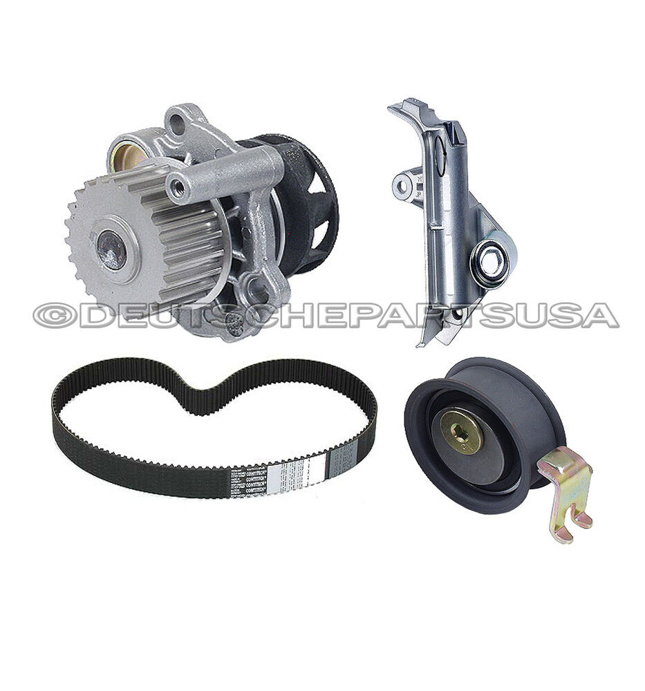 Audi Timing Belt : Audi tt a quattro t water pump timing belt