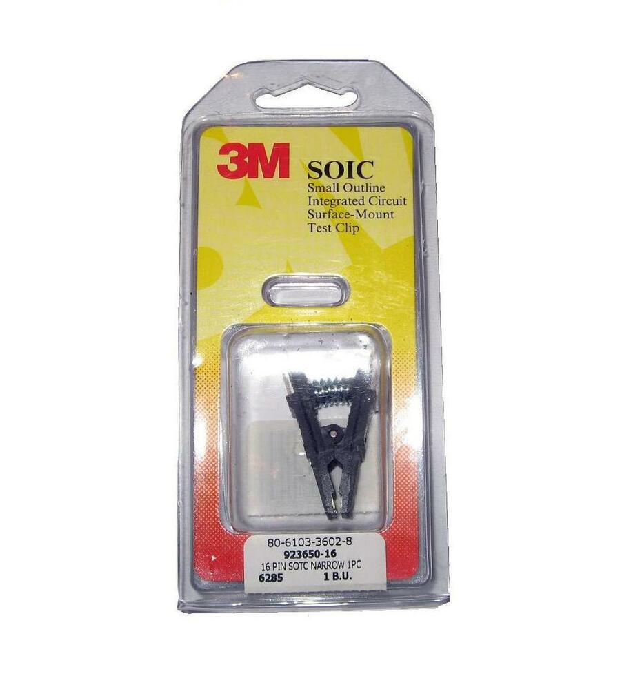 3m Soic 16 Way Test Clips Better Modified Version 5053606620726 Small Outline Integrated Circuit Sotc8 Ebay