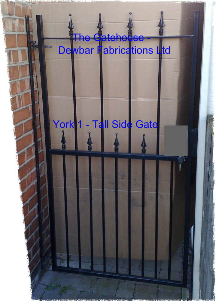 Wrought Iron Metal Steel Security Side Gate Gates Ebay