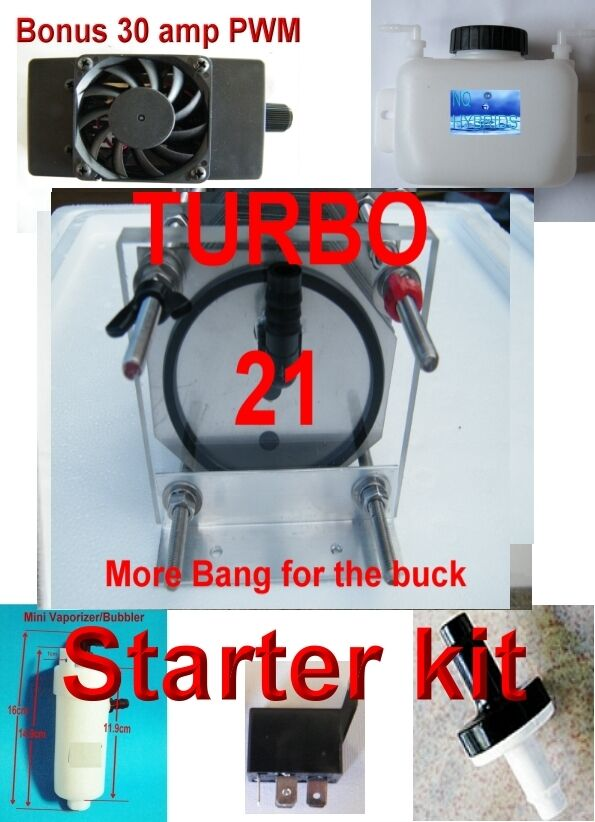 turbo unit hho 21 plate dry cell complete starter kit ebay. Black Bedroom Furniture Sets. Home Design Ideas