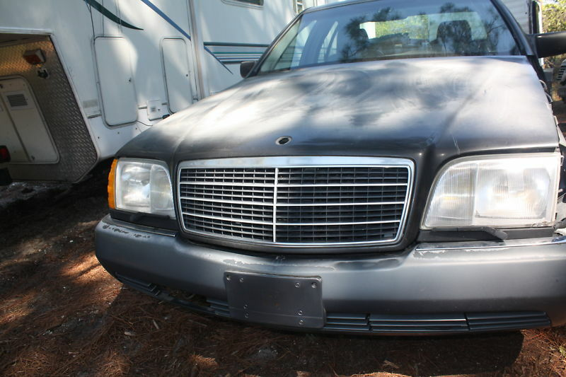 Mercedes 500sel 92 parts car parting out w140 s class ebay for Mercedes benz aftermarket performance parts