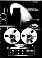 REVOX B77 MK1 AND B77 MK2  SERVICE MANUALS ON CD-R