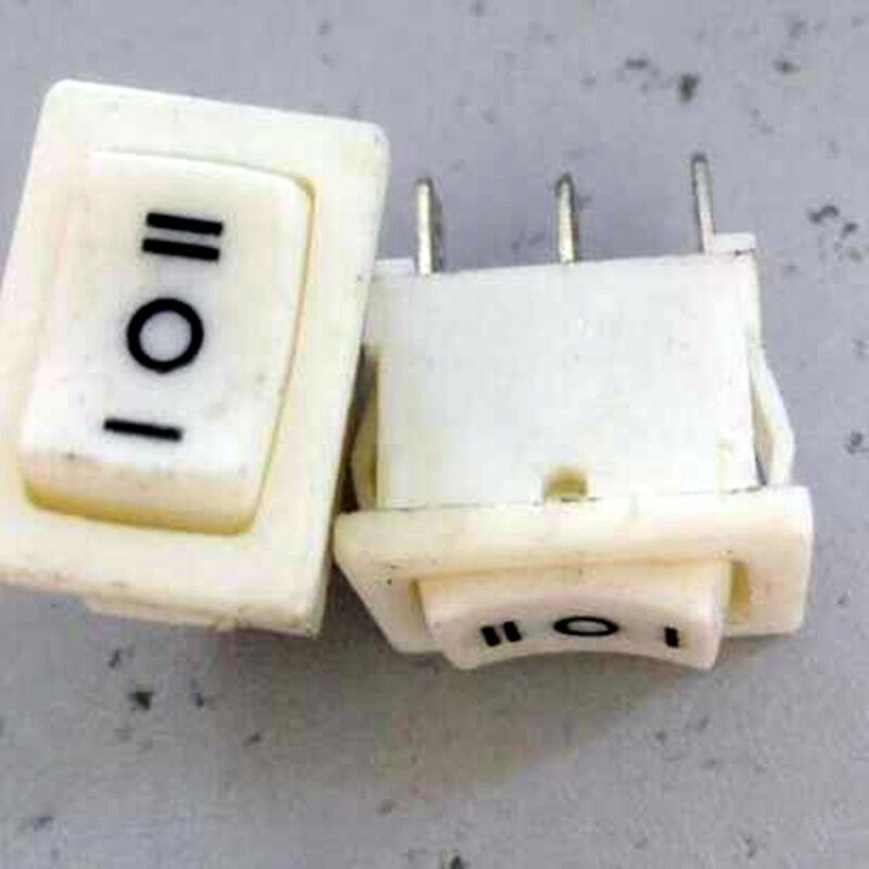 2pcs Solteam On  Off  On Spdt Rocker Switch Ac 120v