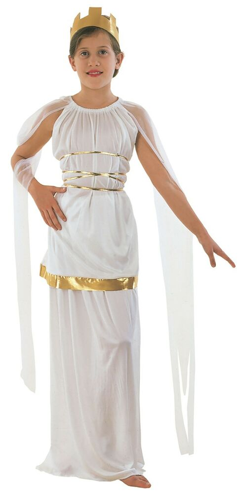 ATHENA GREEK GRECIAN ROMAN GODDESS GIRLS COSTUME | eBay