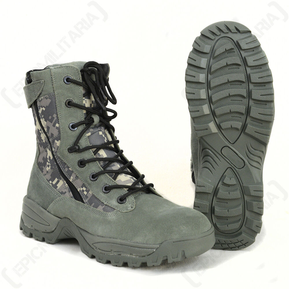 digital camo camouflage army boots all sizes ebay