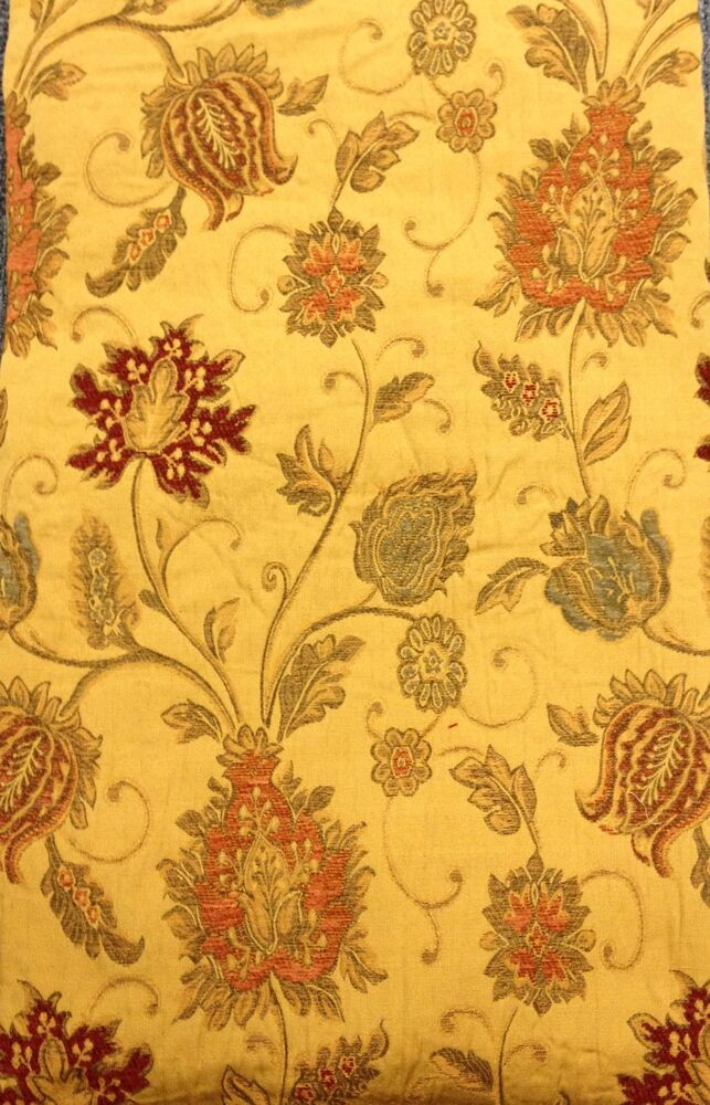 Heavyweight Chenille Tapestry Door Curtain Period Style