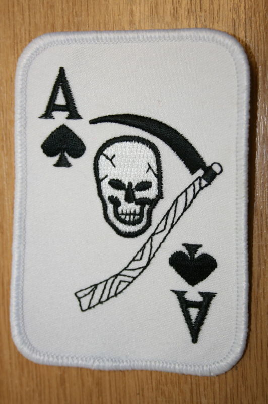 6 of clubs death card patch