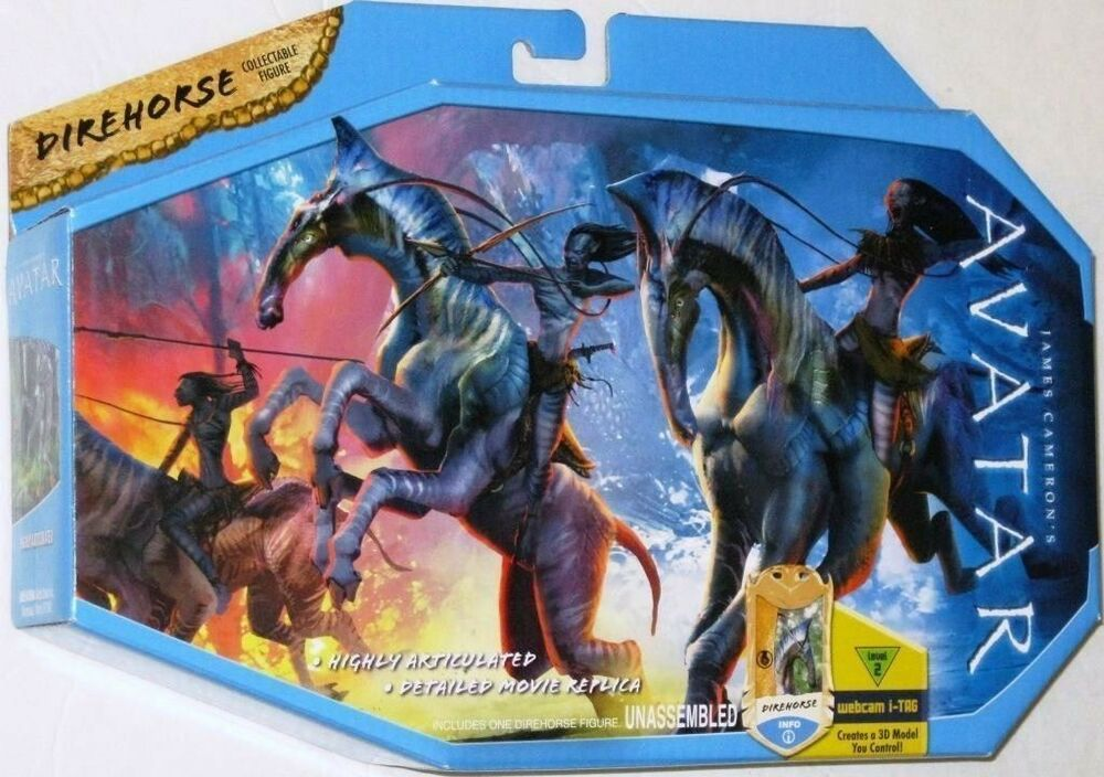 avatar james camerons direhorse collectable figure new ebay