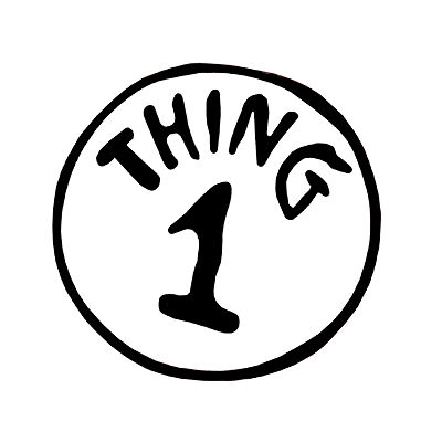 Accomplished image throughout thing 1 shirt printable